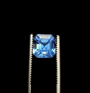 Aquamarine Gemstone , Aquamarine - 3.95 cts , 10*9*7 mm