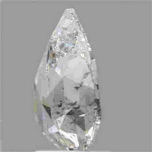 2 Ct White Color Pear Diamond Loose Gemstone 1 Pieces