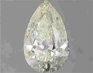 1.51 Carat White Pear Diamond Loose Gemstone 1 Pieces