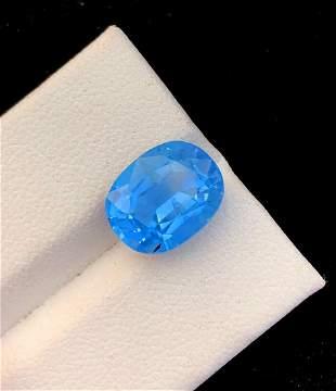 Aquamarine Gemstone , Aquamarine - 4.65 cts , 12*9*7 mm