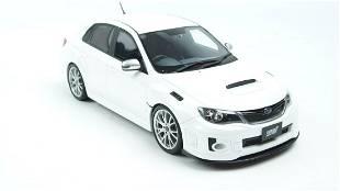 Otto Mobile Subaru Impreza WRX STI S206 White 1:18 Asia