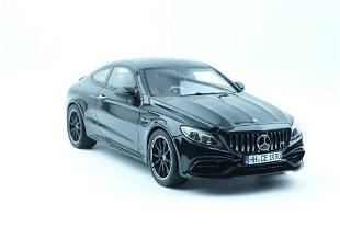 GT Spirit Mercedes-AMG C63 S Coupe (W205) Obsidian