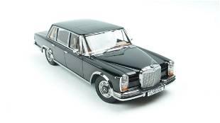 KK Scale Mercedes-Benz 600 SWB W100 1963 Black 1:18