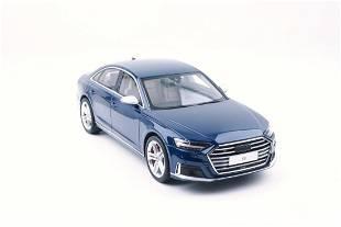 GT Spirit Audi S8 2020 Navarra Blue 1:18