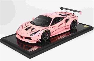 BBR Ferrari 488 Challenge 2018 Pink 1:18