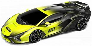 Bburago Lamborghini Sian FKP 37 2020 Yellow Fade 1:18