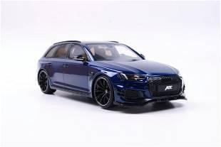 GT Spirit Audi ABT RS4 Avant 2018 Blue 1:18 Asia