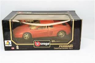 Bburago Ferrari Testarossa Red 1:18