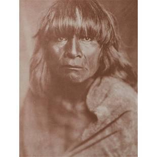 EDWARD CURTIS - A Hopi Man