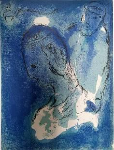 Abraham and Sarah: Chagall