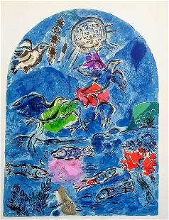 Tribe of Reuben: Chagall (after)