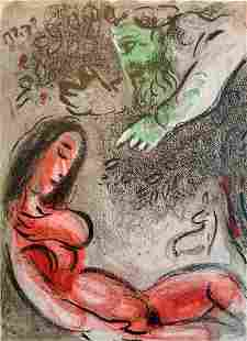 Eve cursed by God: Chagall