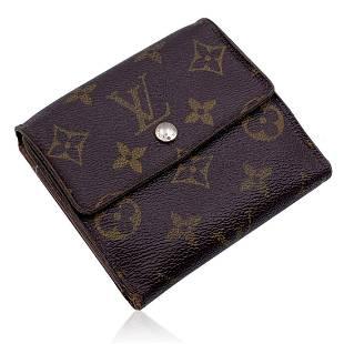 Louis Vuitton Vintage Monogram Elise Square Compact