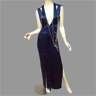 Runway Tom Ford Original Couture Cut out Maxi Gown