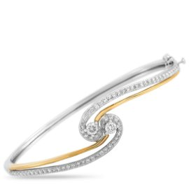LB Exclusive 14K White and Yellow Gold 1.50 ct Diamond