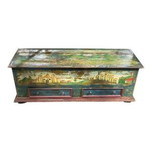 Late 19th Century Painted Italian Chest