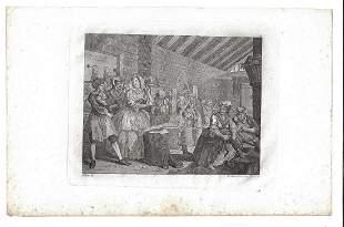 c1800 William Hogarth Engraving