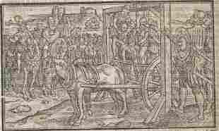 1577 Leaf Holinshed Scotland Execution