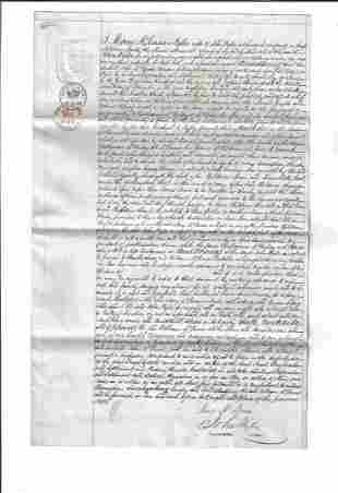 Group 19th C Documents Campbellton Distller
