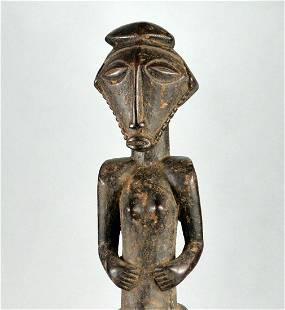 Large BASIKASINGO Ancestor Figure Congo Sikasingo