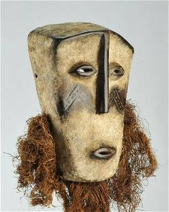 Superb Large LEGA Idimu Bwami wood Mask Congo Drc
