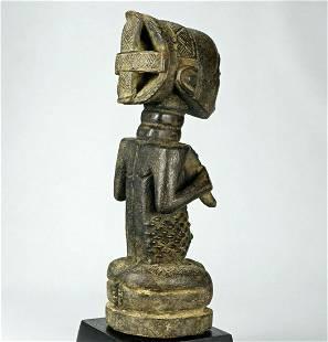 Fine LUBA old cult figure statue sculpture Congo