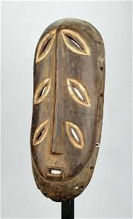 Rare initiation BEMBE Mask 6 eyes Congo DRC African