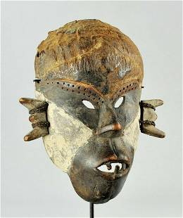 Superb & Powerfull BOA Pongdudu Warrior Mask Congo Drc