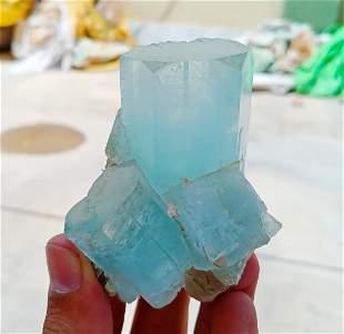 Natural & Unheated~ Blue Aquamarine Specimen