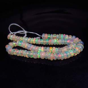 13.73 Ct Natural 42 Drilled Fire Opal Beads