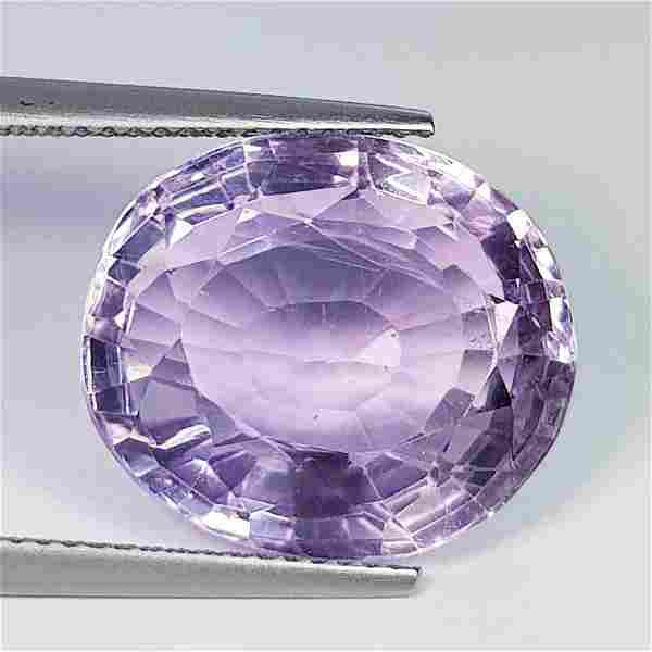 Nathural Amethyst Oval Cut 15.14 Ct