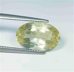 Natural Scapolite Oval Cut - 6.40 ct