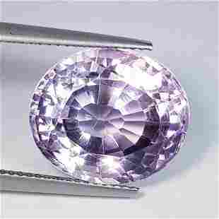 Nathural Amethyst Oval Cut 16.04 Ct