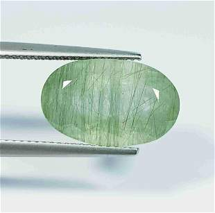 8.63 Ct Natural Aquamarine Oval Cut