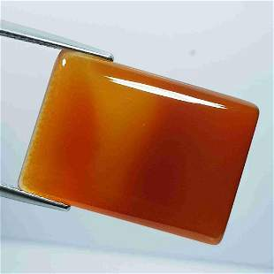 21.48 Ct Natural Brown Agate