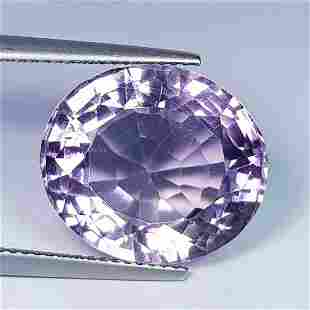 Nathural Amethyst Oval Cut 16.97 Ct