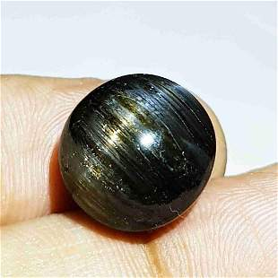 14.23 ct Natural Rare Golden Eye (scapolite)