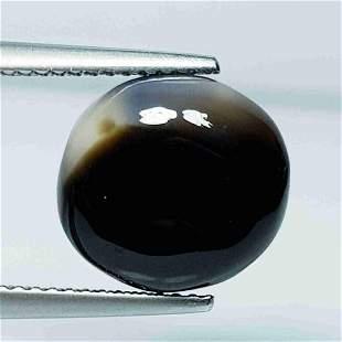 5.60 Ct Natural Black Agate