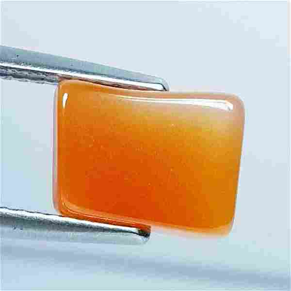 3.73 Ct Natural Orange Agate