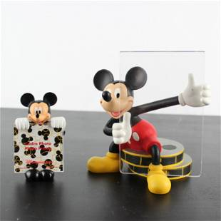 Mickey Mouse sculptured picture frame
