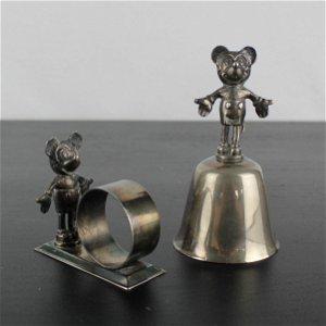 Vintage Mickey Mouse tableware