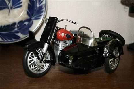 """Marusan """"Sunbeam"""" electric motorcycle, with working"""