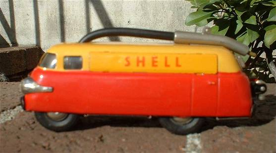 Schuco Shell truck 5601 , Made in Germany , companion