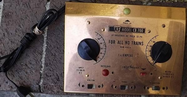 Dual train controller.