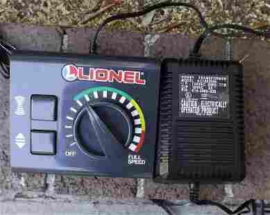 Lionel train controller.