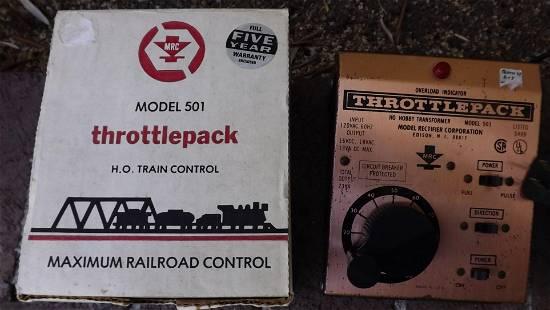 MRC train controller.