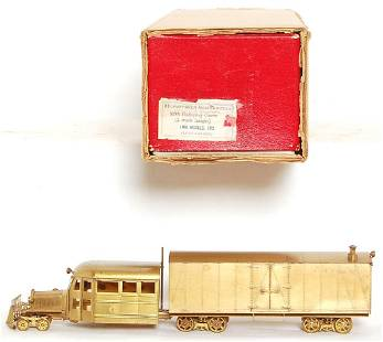 HO scale, LMB KMT (made in Japan) all brass RGS