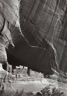 ANSEL ADAMS - White House Ruin, Canyon de Chelly