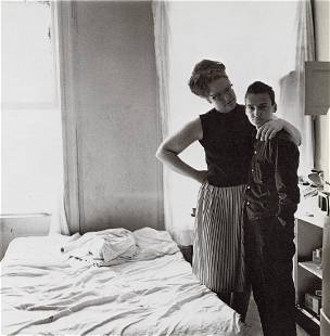 DIANE ARBUS - Two Friends at Home, NYC, 1965