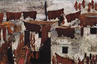 BRUNO BARBEY - Tanners of Sidi Moussa Fez, Morocco